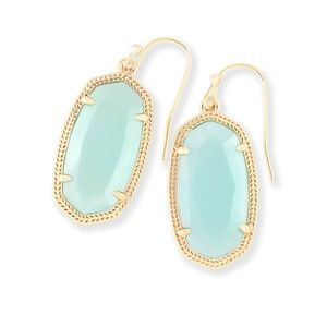 Kendra Scott - Dani Earrings Chalcedony Small Size